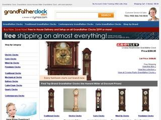 Go to grandfatherclockselect.com website.