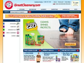 Go to greatcleaners.com website.
