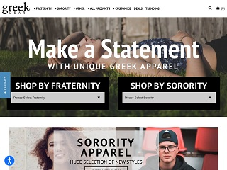Go to greekgear.com website.
