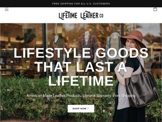 Go to lifetimeleather.com website.