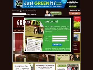 Go to greennest.com website.