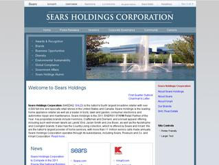 Go to searsholdings.com website.