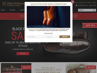 Go to allenedmonds.com website.