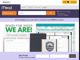 Go to mead.com website.