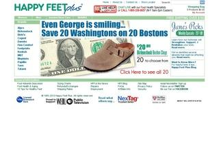 Go to happyfeet.com website.