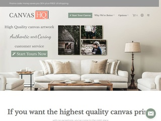 Go to canvashq.com website.