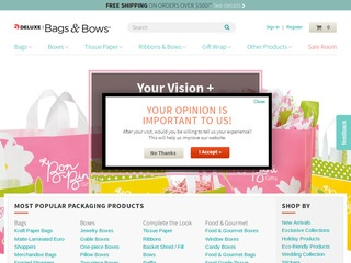 Go to bagsandbowsonline.com website.