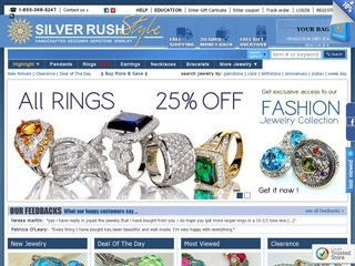 Go to silverrushstyle.com website.