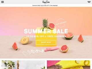 Go to happysocks.com website.