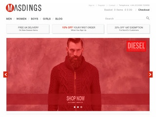 Go to masdings.com website.