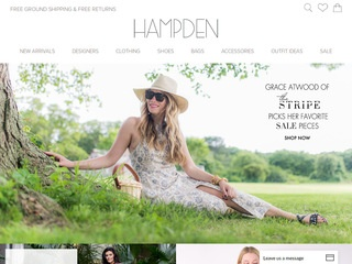 Go to hampdenclothing.com website.