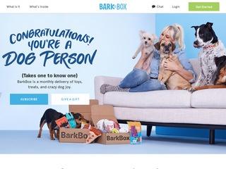 Go to barkbox.com website.
