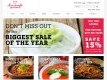 See shop.homemadegourmet.com's coupon codes, deals, reviews, articles, news, and other information on Contaya.com