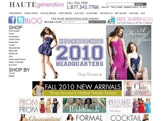 Go to hautegeneration.com website.
