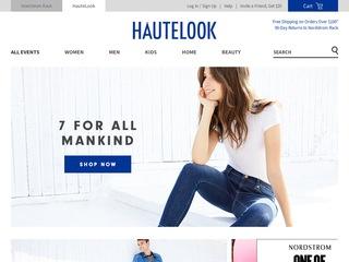 Go to hautelook.com website.