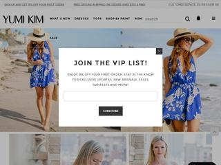 Go to yumikim.com website.