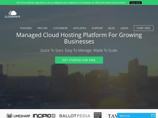Go to cloudways.com website.