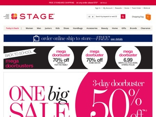 Go to stagestores.com website.