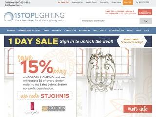 Go to 1stoplighting.com website.