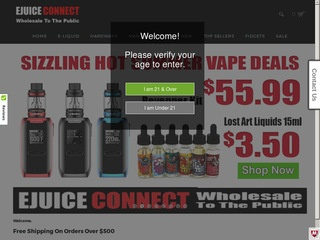 Go to ejuiceconnect.com website.