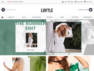 Go to luvyle.com website.
