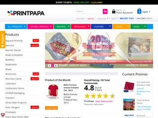 Go to printpapa.com website.
