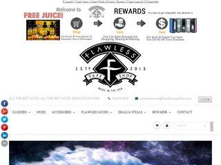 Go to flawlessvapeshop.com website.