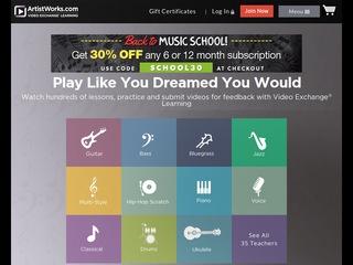 Go to artistworks.com website.