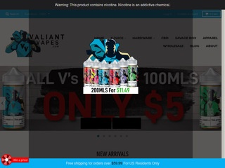 Go to valiantvapes.com website.
