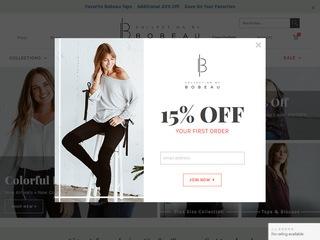 Go to bobeau.com website.