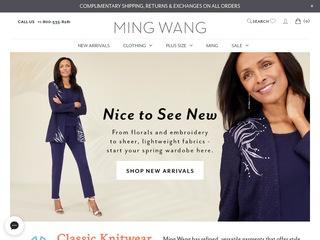 Go to mingwangknits.com website.