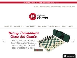Go to wholesalechess.com website.