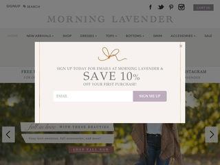 Go to morninglavender.com website.