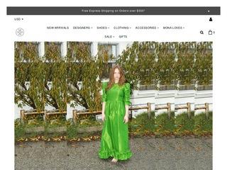 Go to monamoore.com website.
