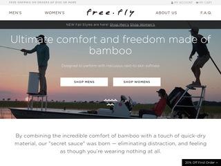 Go to freeflyapparel.com website.