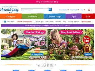 Go to hearthsong.com website.