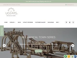 Go to ugears.us website.