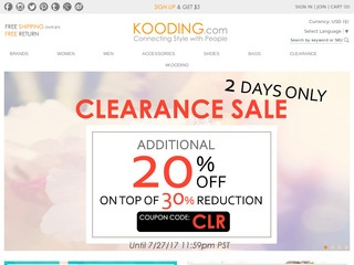 Go to Kooding.com website.