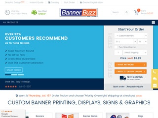 Go to bannerbuzz.com website.