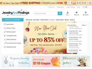 Go to jewelryandfindings.com website.