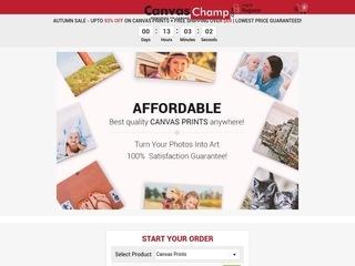 Go to canvaschamp.com website.