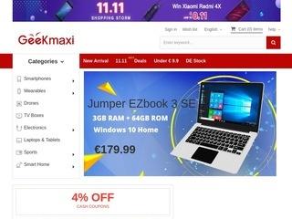 Go to geekmaxi.com website.