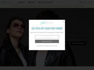 Go to yesglasses.com website.