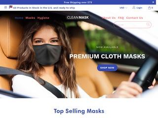 Go to CleanMask.com website.