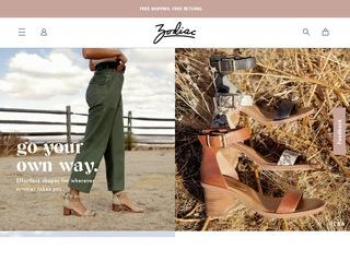 Go to Zodiac Shoes website.