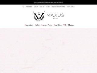 Go to maxusnails.com website.