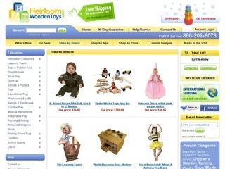 Go to heirloomwoodentoys.com website.