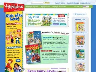 This is what the highlights.com website looks like.