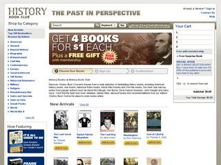 Go to historybookclub.com website.