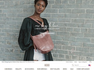 Go to Hobo Bags website.